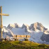 Blick Richtung Dachstein Gletscher vom Bodenberg
